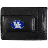 "Kentucky Wildcats Fine Leather Money Clip (NCAA) Card & Cash Holder (""UK"" Emblem)"