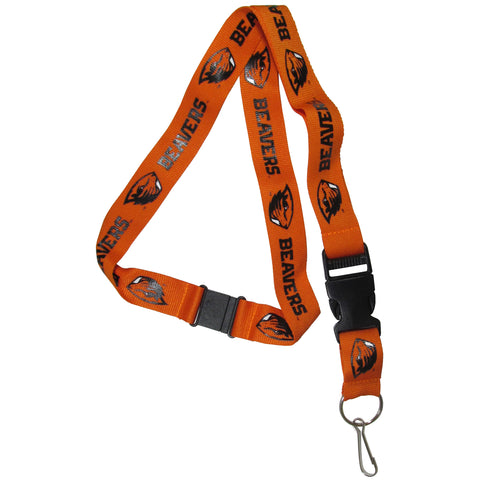 "Oregon State Beavers 21"" Lanyard Key Chain (Orange) NCAA"
