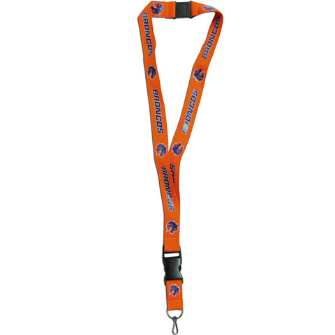 "Boise State Broncos 21"" Lanyard Key Chain (Orange) NCAA"