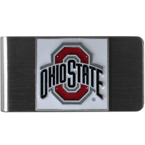 Ohio State Buckeyes Stainless Steel Money Clip (NCAA)