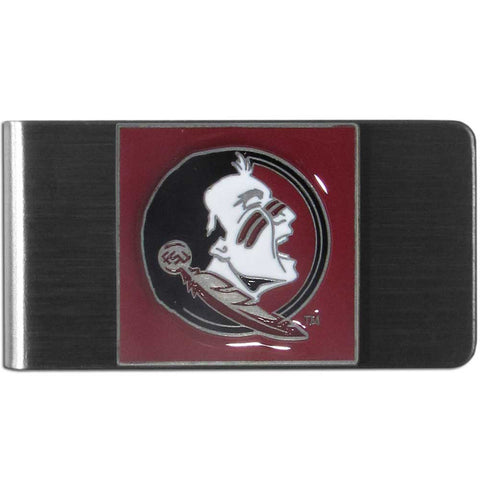 Florida State Seminoles Stainless Steel Money Clip (NCAA)