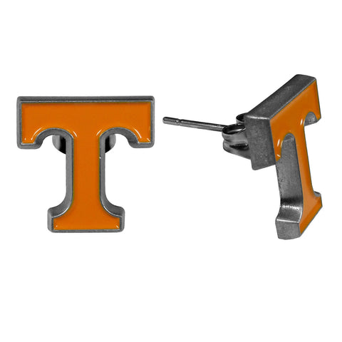 "Tennessee Volunteers Stud Earrings (""T"") NCAA"