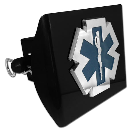 EMS Black Plastic Hitch Cover (Paramedic) Occupational