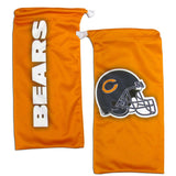 Chicago Bears Wrap Sunglasses with Microfiber Bag (NFL)