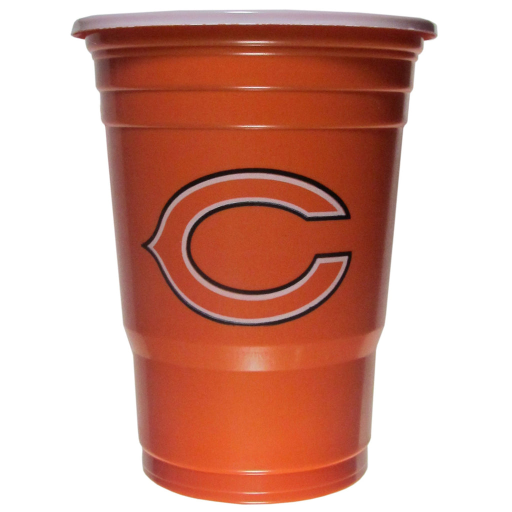 Chicago Bears 24 count 18 oz Disposable Plastic Cups (NFL)