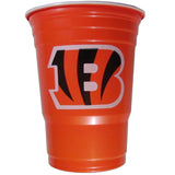 Cincinnati Bengals 18 count 18 oz Disposable Plastic Cups (NFL)
