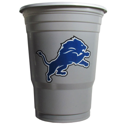 Detroit Lions 24 count 18 oz Disposable Plastic Cups (NFL)