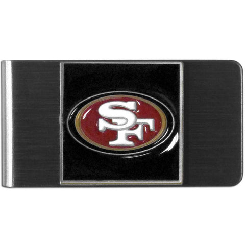 San Francisco 49ers Stainless Steel Money Clip (NFL)