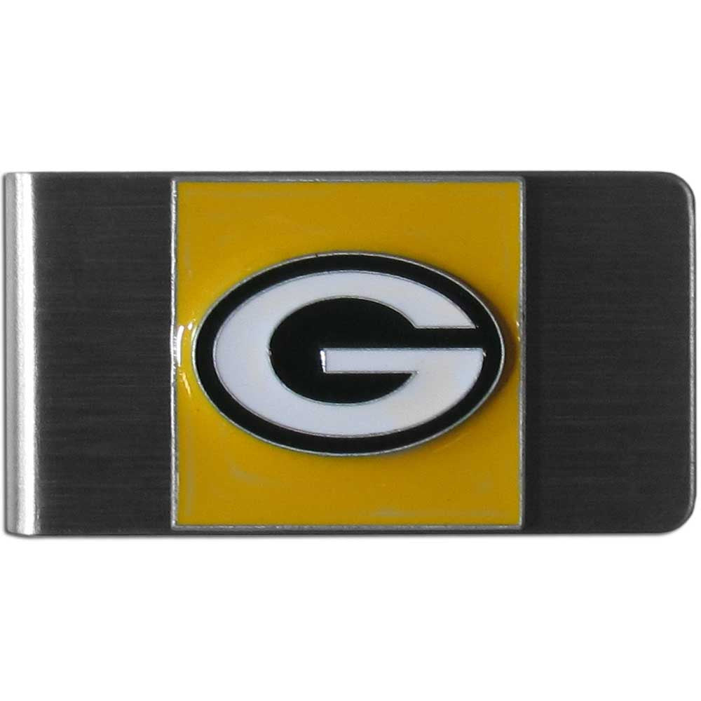 Green Bay Packers Stainless Steel Money Clip (NFL)