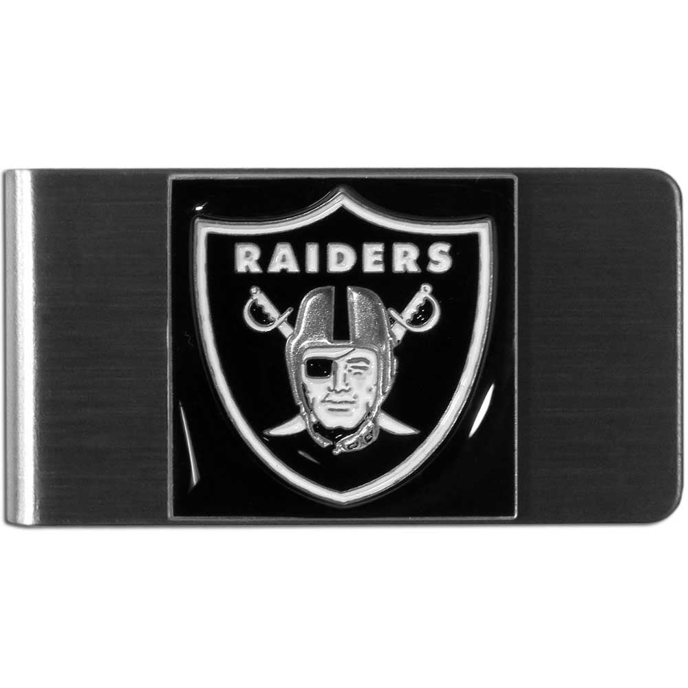 Oakland Raiders Stainless Steel Money Clip (NFL)