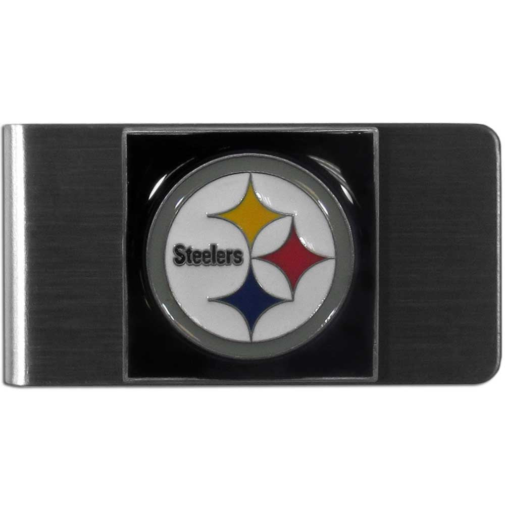 Pittsburgh Steelers Stainless Steel Money Clip (NFL)