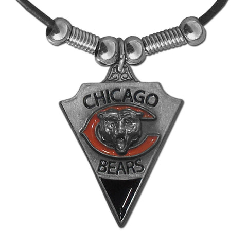Chicago Bears Leather Cord Necklace (NFL)