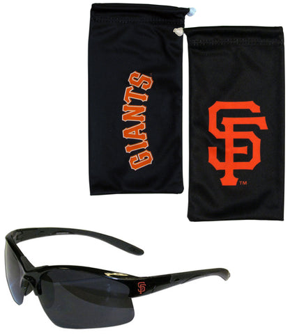 San Francisco Giants Blade Sunglasses With Microfiber Bag (MLB)