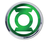 Green Lantern Chrome Metal Auto Emblem (Seal) DC Comics