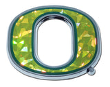 "Oregon Ducks Chrome Metal Auto Emblem (""O"" with color) NCAA"