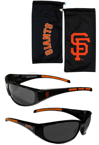 San Francisco Giants Wrap Sunglasses With Microfiber Bag (MLB)
