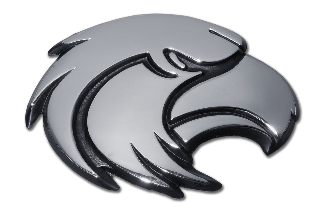 Southern Mississippi Golden Eagles Chrome Metal Auto Emblem (Eagle) NCAA