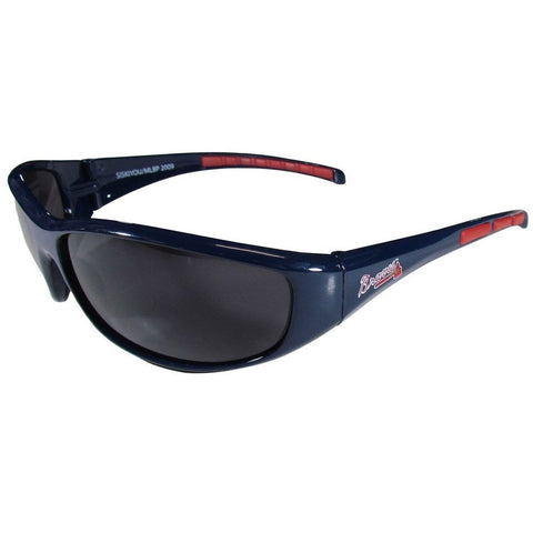 Atlanta Braves Wrap Sunglasses MLB Baseball
