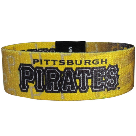 Pittsburgh Pirates Stretch Bracelet MLB Licensed Jewelry
