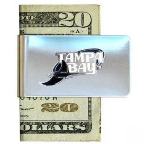 Tampa Bay Rays Steel Money Clip MLB Baseball