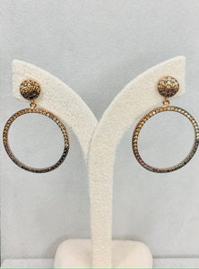 La Luna Sand Earrings