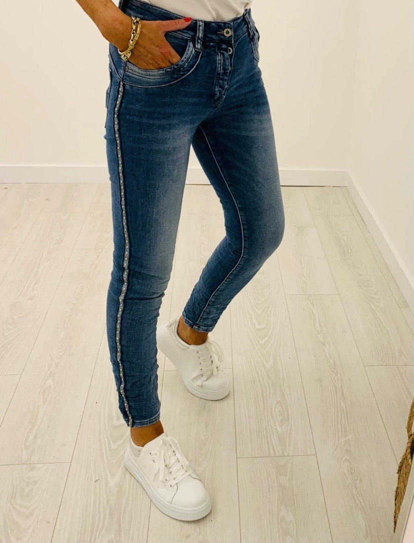 Melly & Co Stud Jeans