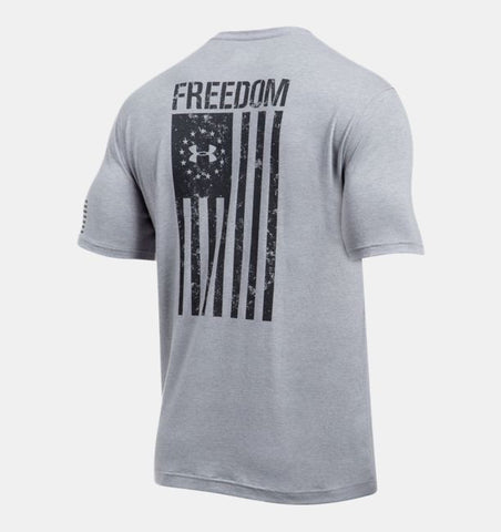 Under Armour Mens Freedom Flag T Shirt