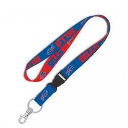 "Wincraft Buffalo Bills 1"" Lanyard with Detachable Buckle"
