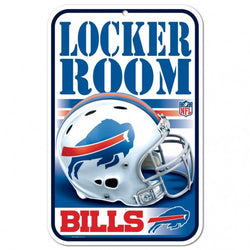 "Wincraft Buffalo Bills 11""x17"" Plastic Sign"