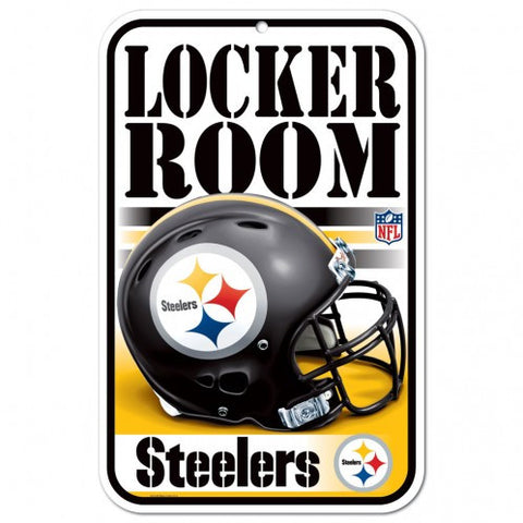 "Wincraft Pittsburgh Steelers 11""x 17"" Plastic Sign"