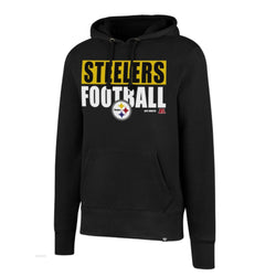 47 Brand Pittsburgh Steelers Mens Headline Hoodie