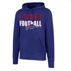 47 Brand Buffalo Bills Mens Headline Hoodie