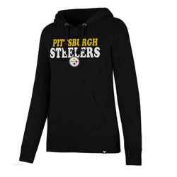 47 Brand Pittsburgh Steelers Womens Headline Hoodie
