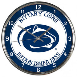 Wincraft Penn State Chrome Clock