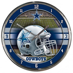 Wincraft Dallas Cowboys Chrome Clock