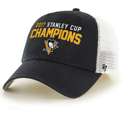 47Brand Pittsburgh Penguins 2017 Stanley Cup Champs Closer Cap