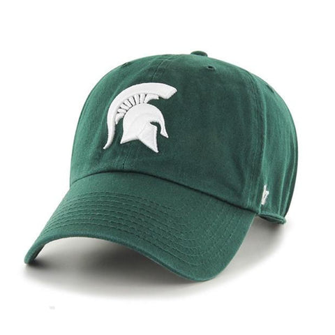 47 Brand Michigan State Spartans Clean Up Hat