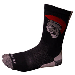 McDowell High School Trojan Socks
