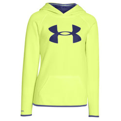 Under Armour Girl's Big Logo Pullover