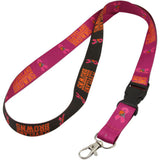 Cleveland Browns Breast Cancer awareness Breakaway Lanyard