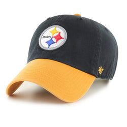 47 Brand Pittsburgh Steelers Clean Up Hat