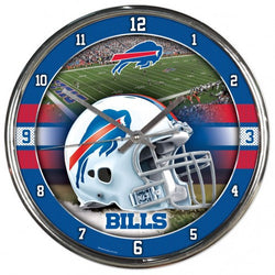 Wincraft Buffalo Bills Chrome Clock