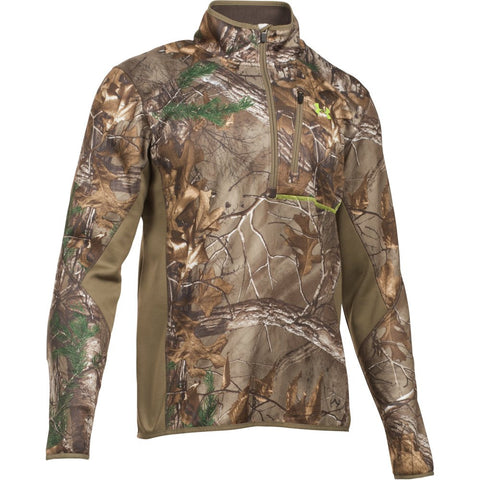 UA Storm Scent Control Fleece Zip