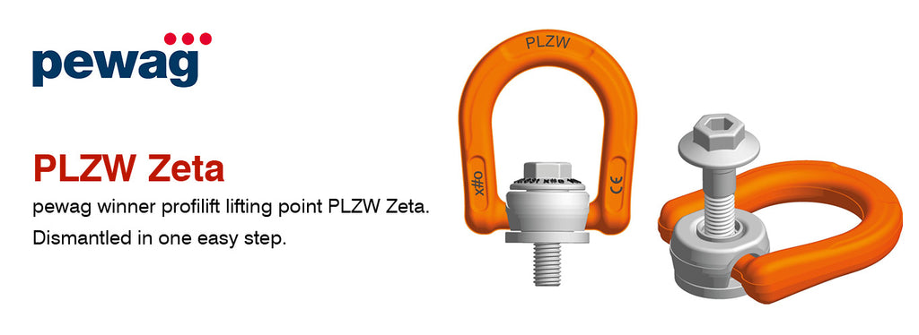 New additions to Pewag Profilift lifting point range.