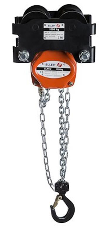 Eller PHGTL Combined Manual Hand Chain Hoist And Geared Travel Trolley
