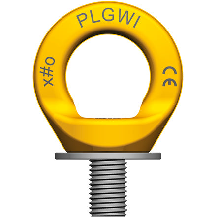 Pewag PLGWI-PSA stainless steel fall protection anchorage eye bolt