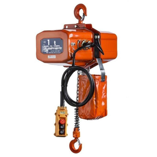 Nitchi EC4 Electric Chain Hoist 400V Single Speed