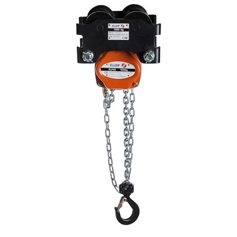 Eller PHGTL Combined Manual Chain Hoist With Geared Trolley