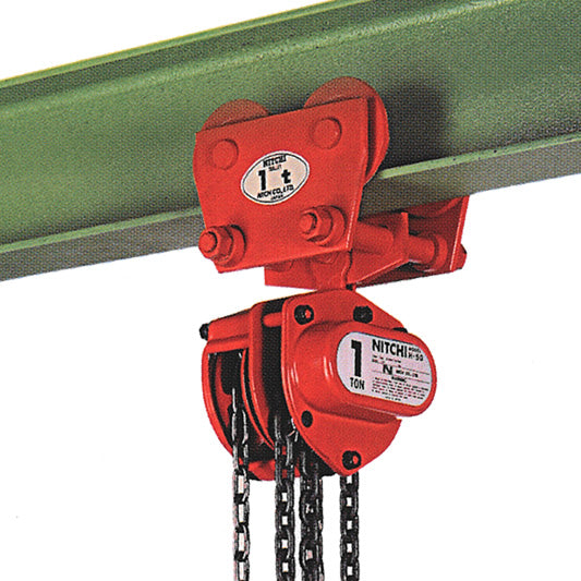 Nitchi HPB50A Combined Manual Chain Hoist With Push Trolley