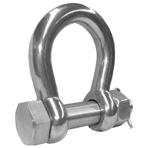 SSBE Safety Pin Bow Shackle